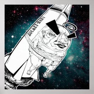 Copie de bébé de Rocket Poster