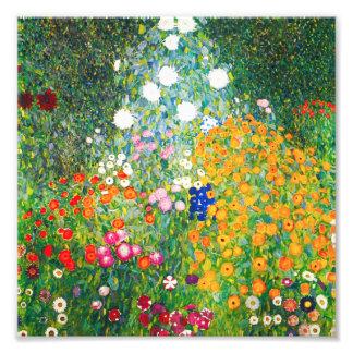 Copie de jardin d'agrément de Gustav Klimt Photo D'art