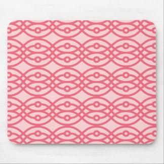 Copie de kimono, rose de corail tapis de souris