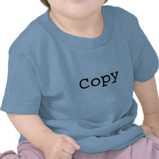 """Copie et pâte pour des jumeaux """"COPIE """" T-shirt"""