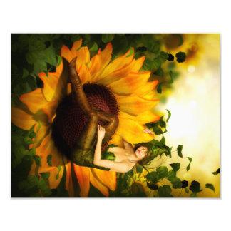 Copie féerique de fleur impression photo