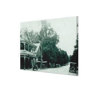 Copie vintage de toile de village d'Ancaster