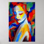 Copies de beaux-arts à de belles peintures affiche