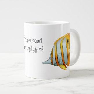 Copperband Butterflyfish-Spezialitäten-Tasse Jumbo-Tasse