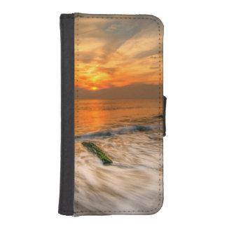 COQUE AVEC PORTEFEUILLE POUR iPhone 5
