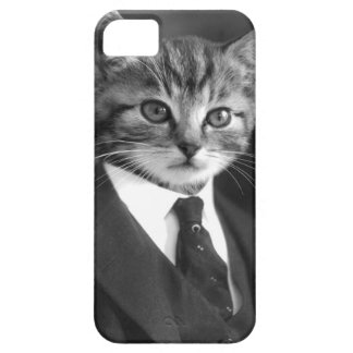Coque Barely There iPhone 5 Chat #1 de monsieur