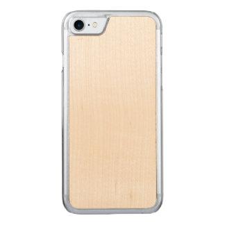 Coque Carved iPhone 8/7 Cas découpé de l'iPhone 7 minces de cerise