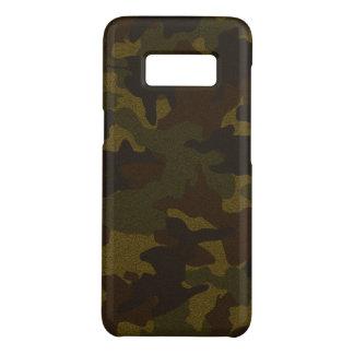 Coque Case-Mate Samsung Galaxy S8 Cas militaires de Brown Camo Samsung S7 de tissu