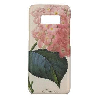 Coque Case-Mate Samsung Galaxy S8 Fleurs vintages de jardin, Hortensia rose