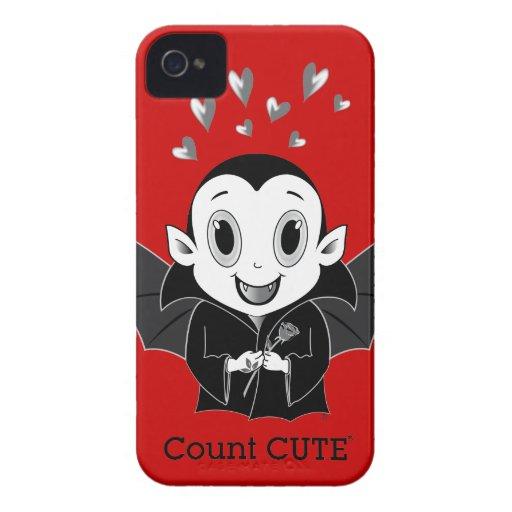 Coque-Compagnon audacieux de Cute® Blackberry de c Étuis iPhone 4