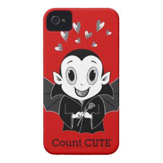 Coque-Compagnon audacieux de Cute® Blackberry de c Coque iPhone 4