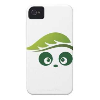 Coque-Compagnon audacieux de Panda® Blackberry d'a Coque iPhone 4