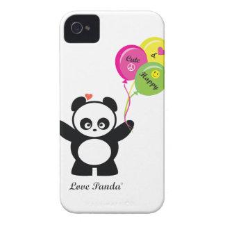 Coque-Compagnon audacieux de Panda® Blackberry d'a Coque Case-Mate iPhone 4