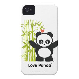 Coque-Compagnon audacieux de Panda® Blackberry d'a Coque iPhone 4 Case-Mate