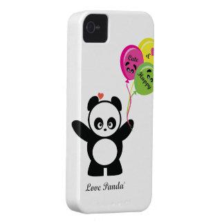 Coque-Compagnon audacieux de Panda® Blackberry d'a Coques Case-Mate iPhone 4