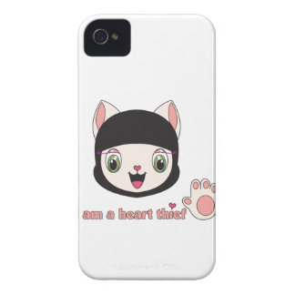 Coque-Compagnon de Ninja MEOW™ Blackberry Coque iPhone 4