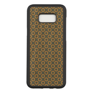 Coque En Bois Samsung Galaxy S8 Plus Galaxie S8 de Samsung de point de polka+ Caisse en