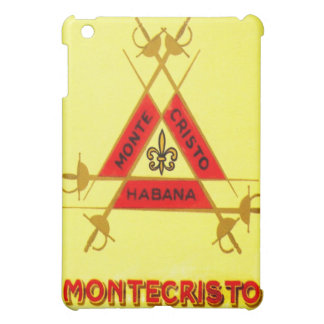 Coque ipad de point de cigare de Monte Cristo