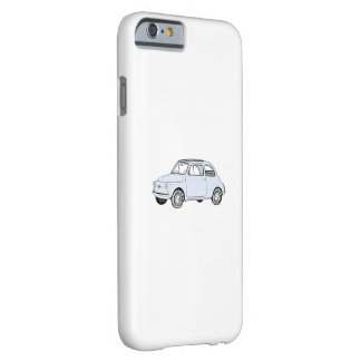 Coque iPhone 6 Barely There Fiat bleu 500 Topolino
