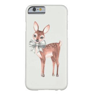 Coque iPhone 6 Barely There Motif avec les cerfs communs 1 de bébé