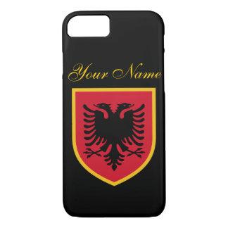Coque iPhone 7 Drapeau de l'Albanie
