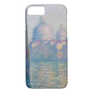 Coque iPhone 7 Voyage de Venise Italie de canal grand de Claude