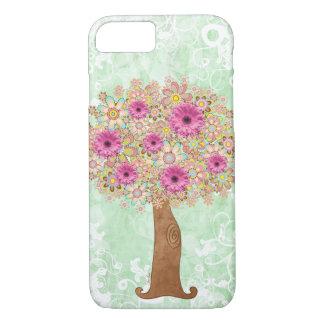 Coque iPhone 8/7 Arbre de fleurs