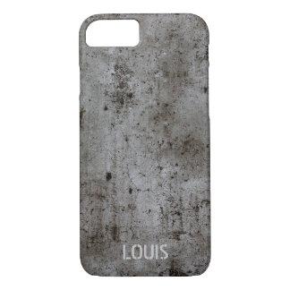 Coque iPhone 8/7 Béton rouillé grunge urbain industriel moderne