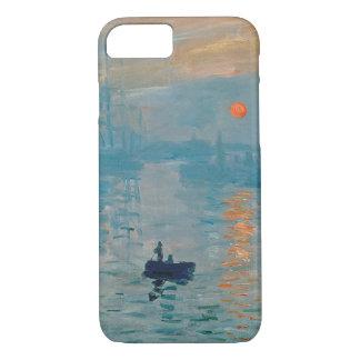 Coque iPhone 8/7 CLAUDE MONET - impression, lever de soleil 1872