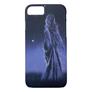Coque iPhone 8/7 Princesse Fantasy Illustration de nuit