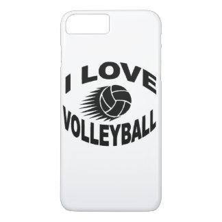 "Coque iPhone 8 Plus/7 Plus CAS PLUS d'IPHONE 6 de ""volleyball"""