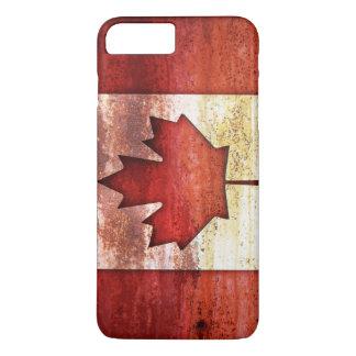 Coque iPhone 8 Plus/7 Plus Drapeau désuet du Canada