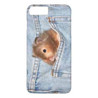 Coque iPhone 8 Plus/7 Plus Hamster dans la poche