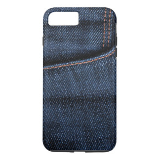 Coque iPhone 8 Plus/7 Plus Poche de blues-jean