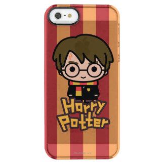 Coque iPhone Clear SE/5/5s Art de personnage de dessin animé de Harry Potter