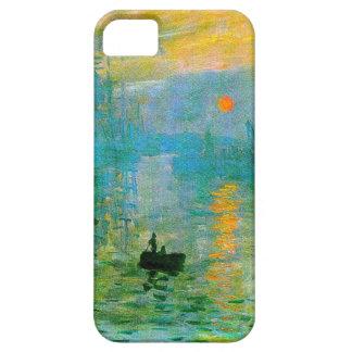 Coque iphone de lever de soleil d'impressionisme d