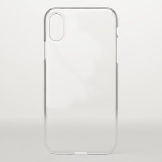 Coque iPhone X Caisse de déflecteur de l'iPhone X Clearly™