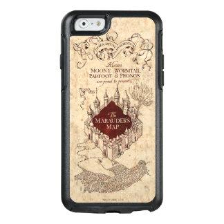 Coque OtterBox iPhone 6/6s La carte du maraudeur du charme | de Harry Potter