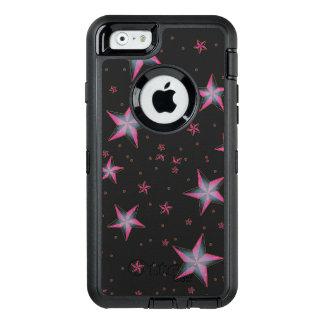 Coque OtterBox iPhone 6/6s Le rose tient le premier rôle le cas de défenseur