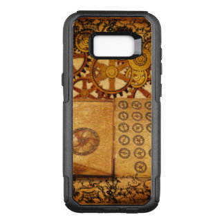 Coque Samsung Galaxy S8+ Par OtterBox Commuter Vitesses grunges de Steampunk