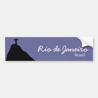 Corcovado - RJ - Brasilien Autoaufkleber