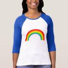 Corey Tiger-80er Vintager Regenbogen T-Shirt