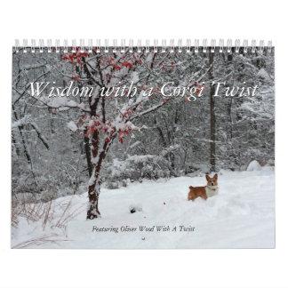 Corgi-Klugheits-Kalender Abreißkalender