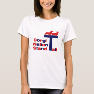 Corgi-Nation - Stand hoch T-Shirt