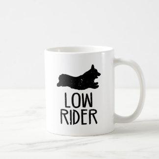 Corgi-niedriger Reiter Kaffeetasse