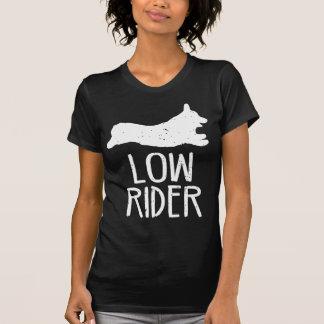 Corgi-niedriger Reiter T-Shirt
