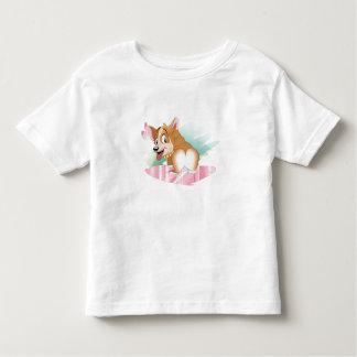 Corgi-Valentinsgruß Kleinkind T-shirt