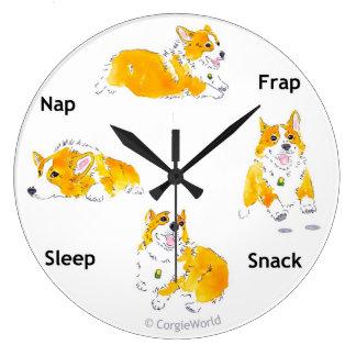 Corgi-Zeiten Uhr