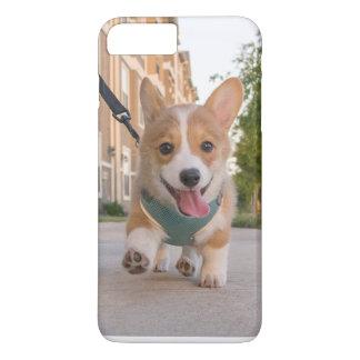 Corgiwelpenfall iPhone 8 Plus/7 Plus Hülle