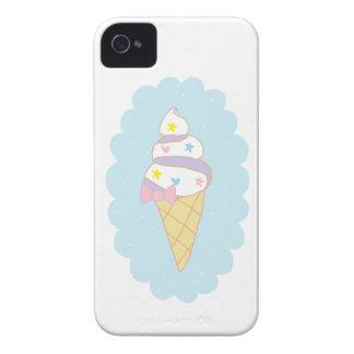 Cornet de crème glacée mignon de remous étui iPhone 4